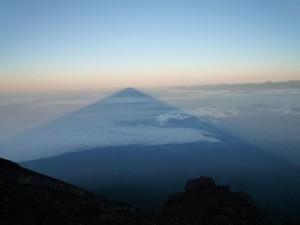 Mount Fuji Shadow