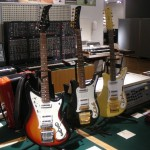 Yamaha guitars and Roland equipment.