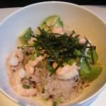 Shrimp & Avacado Donburi.