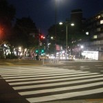 Top of Omotesando.