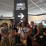 Farewells at Narita