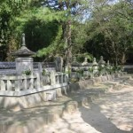 The tombs of the Tokugawa clan's ancestors