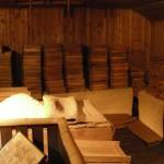 Kunizakari Sake Museum, Re-construction of fermentation room.
