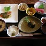 Lunch set at Chikubu