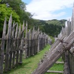 Umabosaku - Barriers to prevent cavalry from overrunning infantry positions.