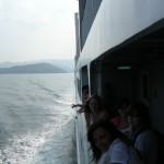 On the ferry from Toba